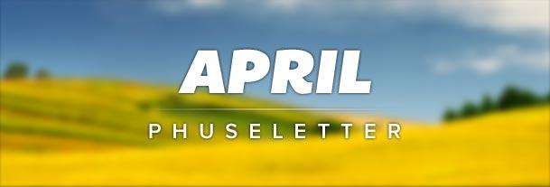 Phuseletter April 2012